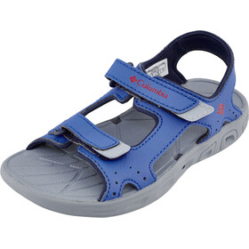 Columbia Techsun Vent Sandalen Kinderen, stormy blue/mountain red